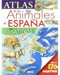 ATLAS DE LOS ANIMALES DE ESPAÑA CON PEGATINAS