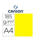 Cartulina Canson A4 Amarillo Canario 185 g.