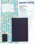 Agenda Makro Paper 150x210 mm Día Página negro