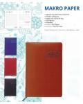 Agenda Makro Paper 150x210mm Día Página burdeo