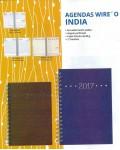 Agenda Wire O.india 145x205 mm Día Página Marrón