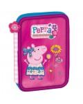 PENCIL 1 ZIPPER PEPPA PIG BUTTERFLY 14X20X3CM