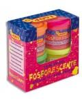 Caja 4 botes 55 ml.Fosforescente