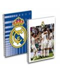 Cuaderno Folio 80H Cuadriculado Real Madrid