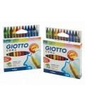 Ceras Giotto Maxi de 12 Colores