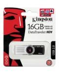 Memoria USB 16GB kingston datatraveler 101 g2 negra