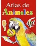 Atlas De Animales Con Pegatinas