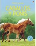 CABALLOS Y PONIS (LIBRO DE PEGATINAS)