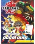 Bakugan Actividades con pegatinas